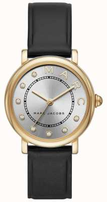 Marc Jacobs Damen marc jacobs classic watch schwarz leatherr MJ1641