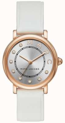 Marc Jacobs Damen marc jacobs classic watch rotes leder MJ1634
