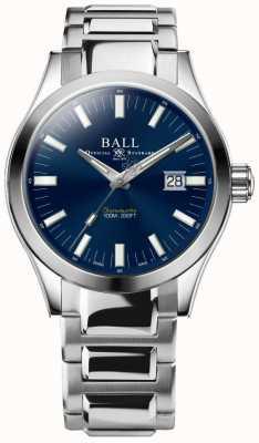 Ball Watch Company Ingenieur m Marvelight 43mm blaues Zifferblatt NM2128C-S1C-BE