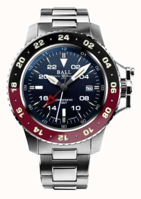 Ball Watch Company Engineer Hydrocarbon Aerogmt II 42mm blaues Zifferblatt DG2018C-S3C-BE