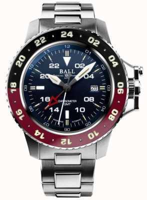 Ball Watch Company Ingenieur Kohlenwasserstoff Aerogmt II 42mm blaues Zifferblatt DG2018C-S3C-BE