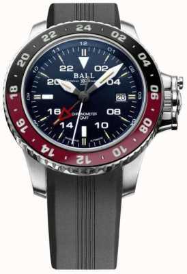 Ball Watch Company Ingenieur Kohlenwasserstoff aerogmt ii 42mm blaues Zifferblatt DG2018C-P3C-BE