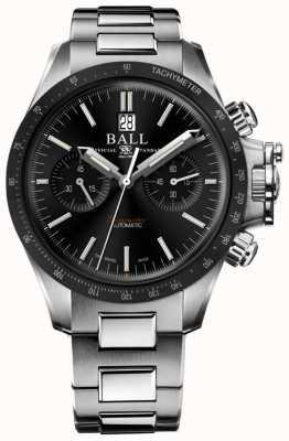 Ball Watch Company Ingenieur Kohlenwasserstoff Racer Chronograph 42mm schwarzes Zifferblatt CM2198C-S1CJ-BK