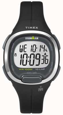 Timex Damen Ironman Essentials 10 schwarz und chrom TW5M19600