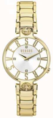 Versus Versace Womens Kristenhof Gold Zifferblatt Gold PVD Armband SP49060018