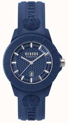 Versus Versace Tokyo r blaues Zifferblatt blau Silikon SPOY210018