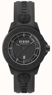 Versus Versace Tokyo r blackdial schwarz Silikonband SPOY230018