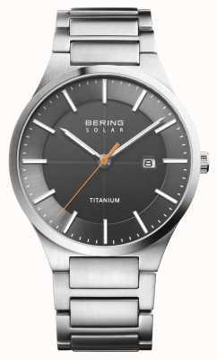 Bering Silber-Titanarmband für Herren 15239-779