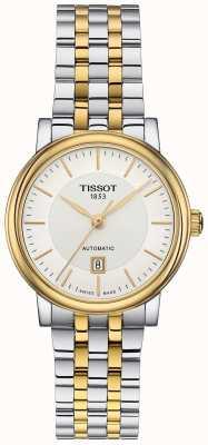 Tissot Carson Automatik zweifarbig aus Edelstahl T1222072203100
