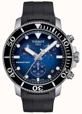 Tissot Herren Seastar 1000 Quarz Chronograph Edelstahl T1204171704100