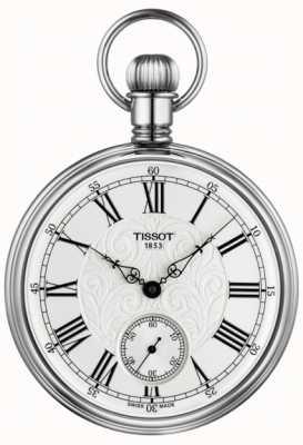 Tissot Lepine mechanische Taschenuhr aus Edelstahl T8614059903300