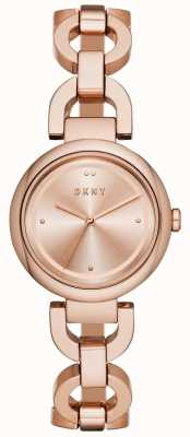 DKNY Womens Eastside Rose Gold PVD überzogen NY2769