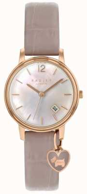 Radley Ladies rose gold Uhr Spinnennetz Band RY2720