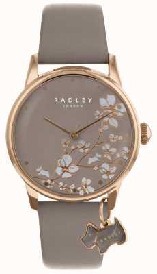 Radley Damenuhr, die Blumenband trägt RY2690