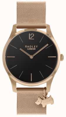 Radley Damenuhr Roségold Mesh-Armband RY4356