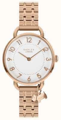 Radley Damenuhr Roségold Armband mit offener Schulter RY4344