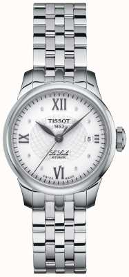 Tissot Damen Le Locle Thin Diamond Set Automatikuhr T41118316
