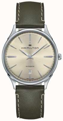 Hamilton Jazzmaster Thinline Automatik Olivgrün H38525811