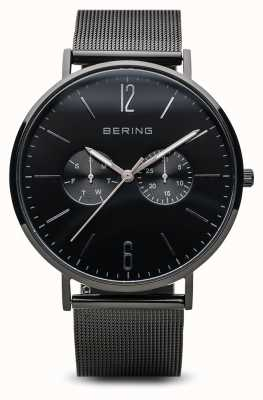 Bering Classic | schwarz poliert | herren | 14240-223