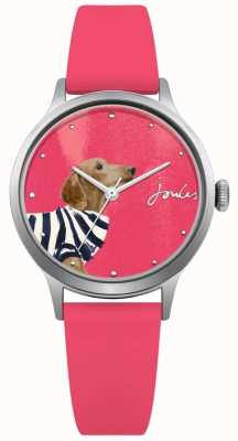 Joules Pinkes Silikonarmband für Damen rosa JSL010P