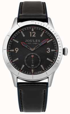 Joules Herren Marine Lederband dunkelblaues Zifferblatt JSG006B