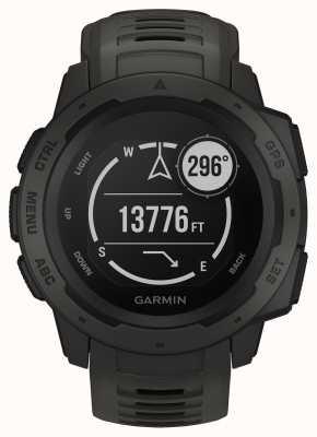Garmin Instinct Graphit Gps-Silikonarmband für den Außenbereich 010-02064-00