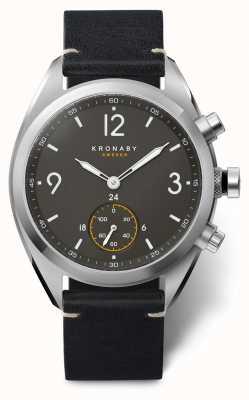Kronaby Apex Smartwatch | schwarzes Armband | a1000-3114 S3114/1