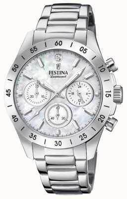 Festina Chronograph aus Edelstahl für Damen F20397/1