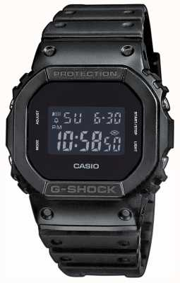 Casio Herren G-Shock Black-Out-Zifferblatt Harzband DW-5600BB-1ER