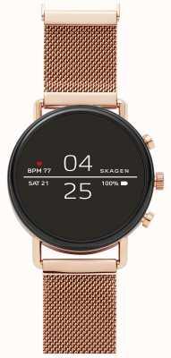 Skagen Falster 2 Gen 4 Smart Uhr Roségold Mesh SKT5103