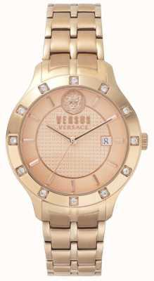 Versus Versace Brackenfell der Frauen | rosegoldes Zifferblatt | Roségold aus rostfreiem Stahl VSP460418