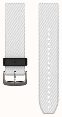 Garmin Weißes Kautschukband quickfit 22mm fenix 5 / Instinkt 010-12500-01