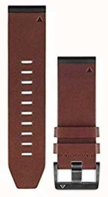 Garmin Braunes Lederarmband quickfit 26mm fenix 5x / tactix charlie 010-12517-04