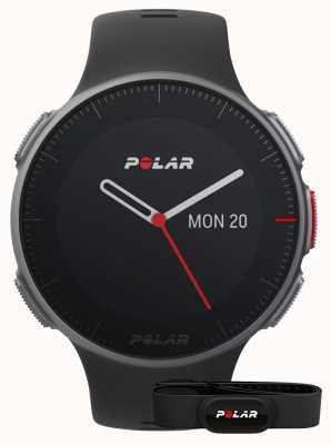 Polar Vantage v (mit HR-Gurt) Black GPS Multisport Training 90069634