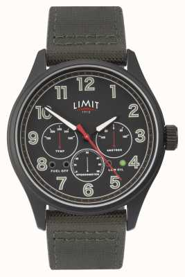 Limit | schwarze Herrenuhr | 5969.01