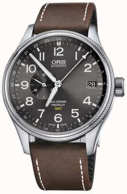 ORIS Big Crown Propilot gmt kleine Sekunden 45mm Herrenuhr 01 748 7710 4063-07 5 22 05FC
