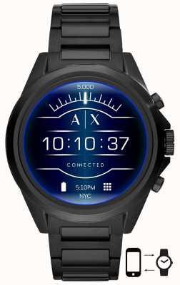 Armani Exchange Drexler schwarz | Edelstahl | Smartwatch AXT2002