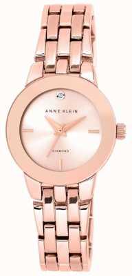 Anne Klein | Womens Agnes Uhr | Roségold-Armband | AK-N1930RGRG