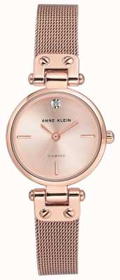 Anne Klein | Damen Kabel Uhr | Roségold-Ton | AK-N3002RGRG