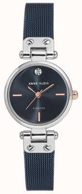 Anne Klein | Damen Kabel Uhr | Marine-Ton | AK-N3003BLRT
