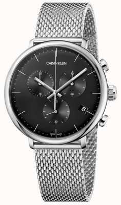 Calvin Klein   Herren Mittags Edelstahl   Chronograph   K8M27121