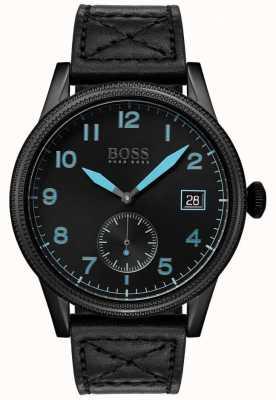 Boss   schwarzes Erbe der Männer   schwarzer Edelstahl   1513672