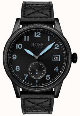 Boss | schwarzes Erbe der Männer | schwarzer Edelstahl | 1513672