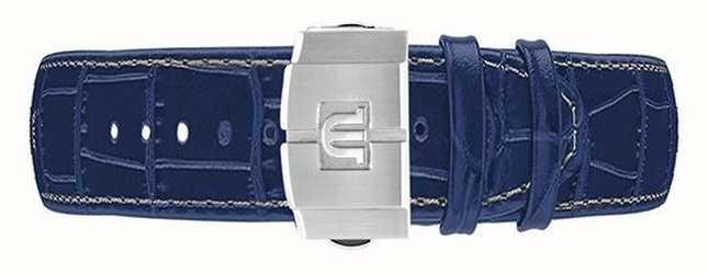 Maurice Lacroix Automatischer Chronograph Aikon 44mm nur mit blauem Lederband ML740-005057-ML508-005008