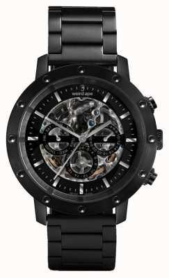 Weird Ape Icarus 3 Zifferblatt schwarz / schwarz Armbanduhr WA02-005700