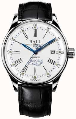 Ball Watch Company Trainmaster Endeavour Chronometer Limited Edition Leder NM3288D-LL2CJ-WH