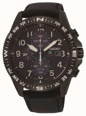 Seiko Prospex Solar Chronograph Lederarmband für Herren SSC707P1
