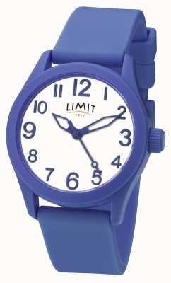 Limit | blaues Silikonband | weißes Zifferblatt | 5719