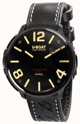 U-Boat Capsoil dlc electromechanics schwarzes Lederband 8108/A