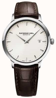 Raymond Weil | braune Leder Tccata Herrenuhr | 5488-STC-40001